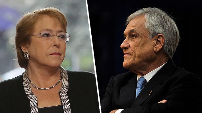¿Cambio de tono en La Moneda?: De apuntar a Bachelet por el bajo crecimiento a desestimar su rol en caso OAS