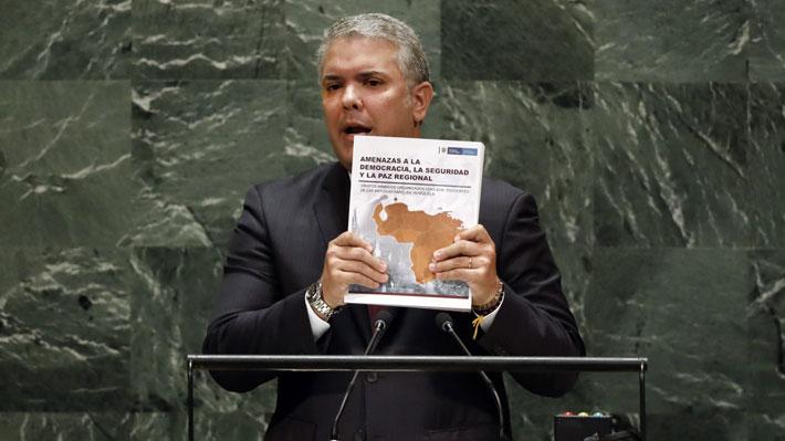 Informe sobre presencia del ELN en Venezuela entregado por Duque a la ONU contendría fotos falsas