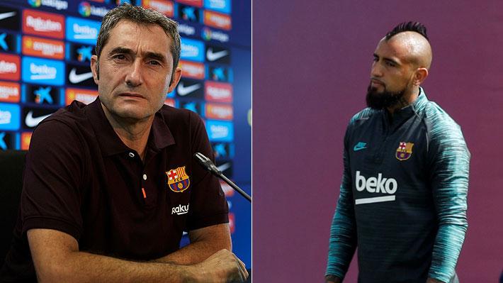 La frase de Valverde que deja aún más en duda el futuro de Vidal en el Barcelona