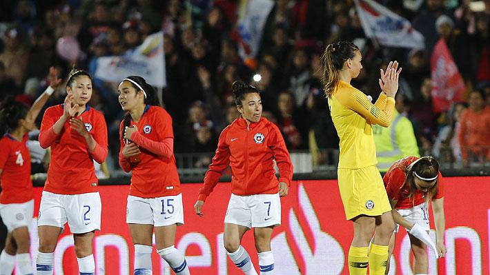 """La """"Roja"""" femenina alcanzó su mejor ubicación histórica en el ranking de la FIFA"""