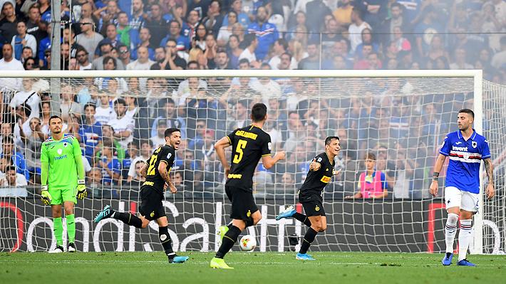 ¿Qué dice el reglamento de la Serie A? El debate que se generó con el primer gol del Inter que Alexis se adjudica