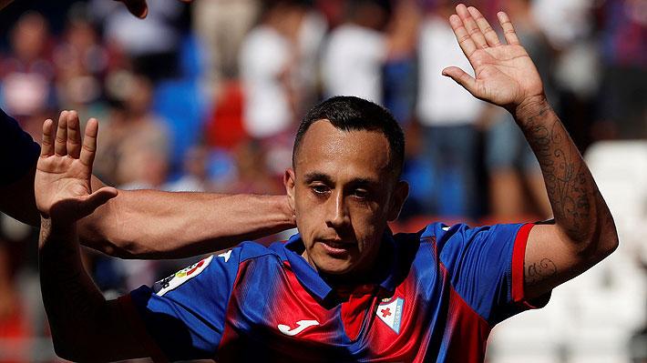 Video: El brillante golazo que marcó Fabián Orellana en España