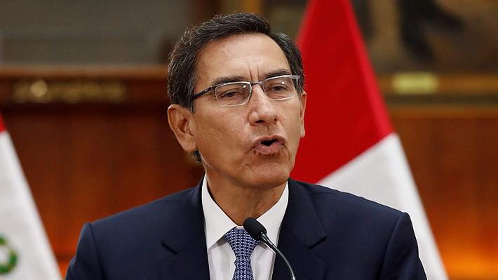 Vizcarra amenaza con disolver el Congreso de Perú si rechaza reforma sobre designación de jueces del Tribunal Constitucional