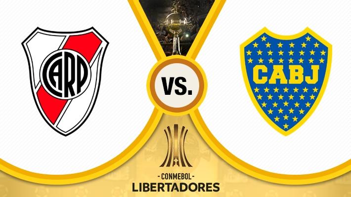 Repasa la victoria de River sobre Boca en la ida de las semis de Libertadores