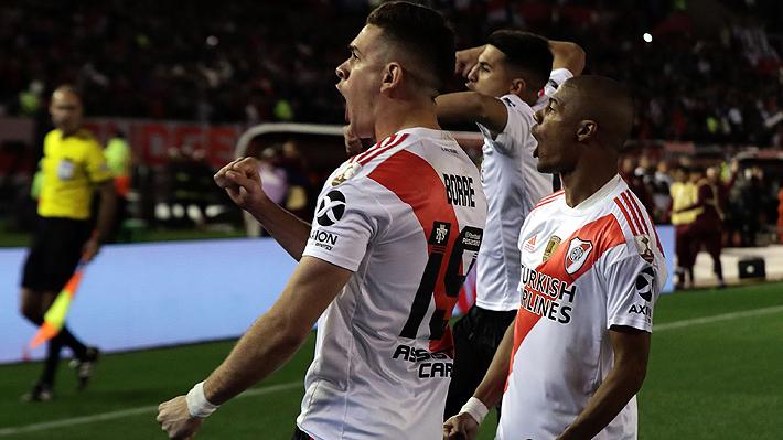 Paulo Díaz no jugó en claro triunfo de River ante Boca en la ida de las semis de la Libertadores