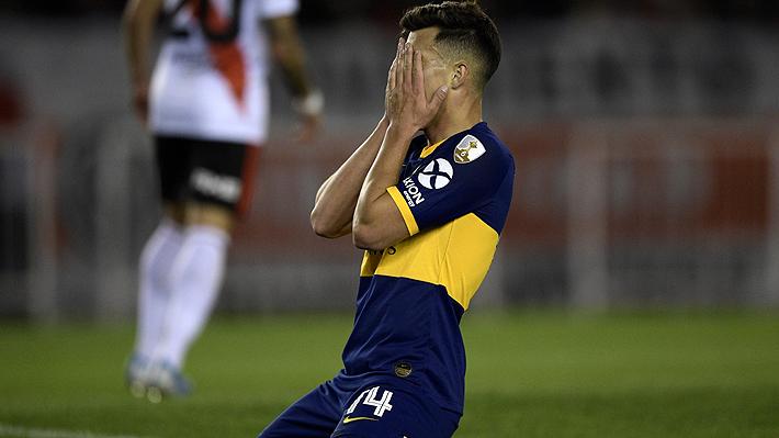 Video: La increíble e inmejorable situación que erró jugador de Boca que era el empate ante River