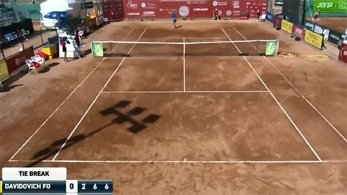 """Mira la """"fea"""" e """"irrespetuosa"""" acción con la que un tenista español se dejó perder en un Challenger"""