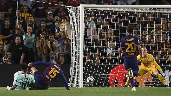 Alexis y Vidal dieron asistencias: Mira los goles en el triunfo del Barcelona sobre el Inter