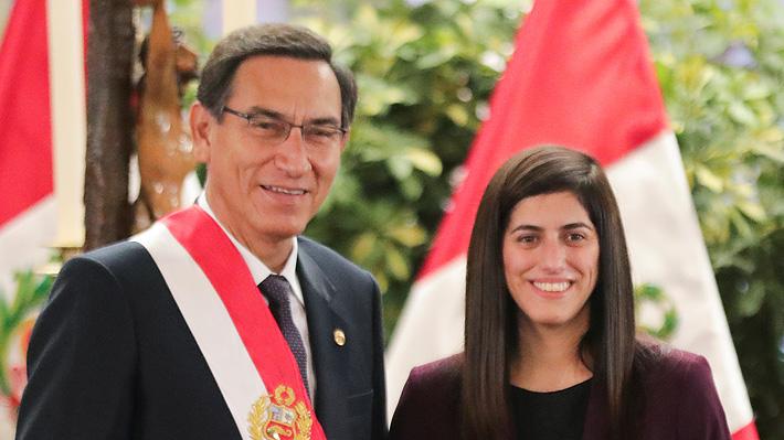 """María Antonieta Alva, la """"millennial"""" designada por Vizcarra como ministra de Economía de Perú"""