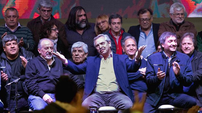 Elecciones en Argentina: Los apoyos internos y externos que cosechan los candidatos ad portas de los comicios