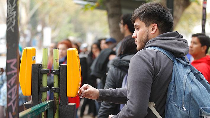 Cambios en la tarifa del transporte metropolitano: Metro en horario punta llegará a los $830 desde el domingo