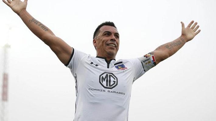 Esteban Paredes hace historia y con su gol a la U se transforma en el máximo anotador del fútbol chileno