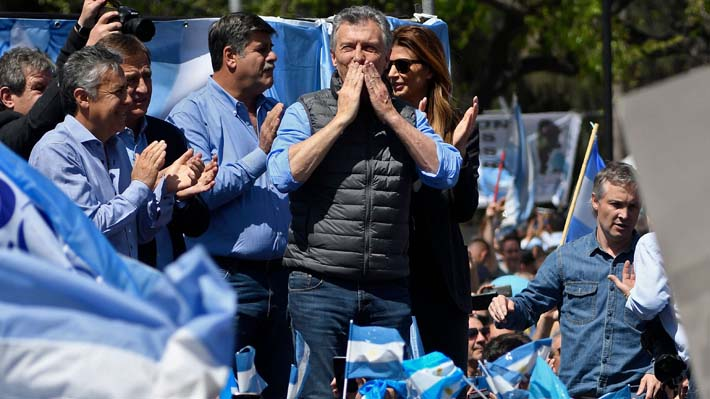 """Mauricio Macri se muestra optimista a tres semanas de las elecciones: """"La vamos a dar vuelta"""""""