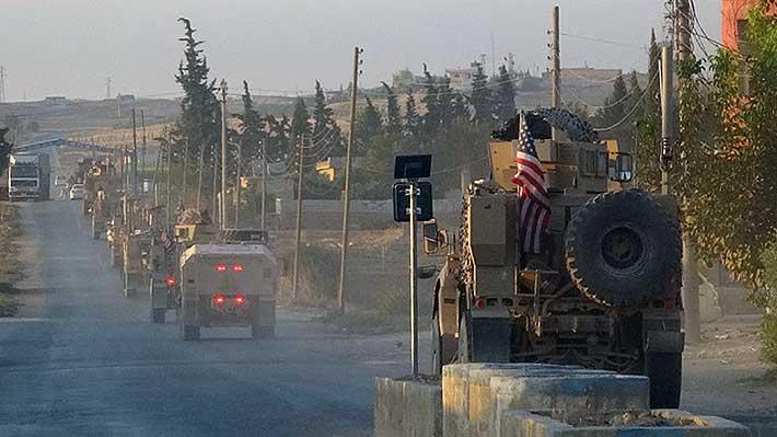 Fuerzas de EE.UU. en Siria empiezan a retirarse de la frontera con Turquía
