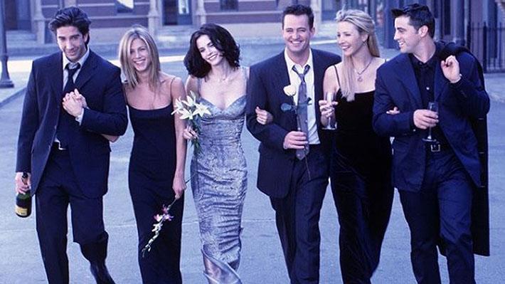 """Tres de los protagonistas de """"Friends"""" comparten foto de su reencuentro a 25 años del estreno de la serie"""