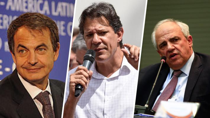 Zapatero, Haddad y Samper: Las figuras que vendrían a la versión chilena del Grupo de Puebla