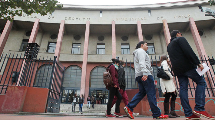 """Estudiantes de Derecho de U. de Chile votaron que su centro de alumnos tenga foco """"antiespecista y antiimperialista"""""""