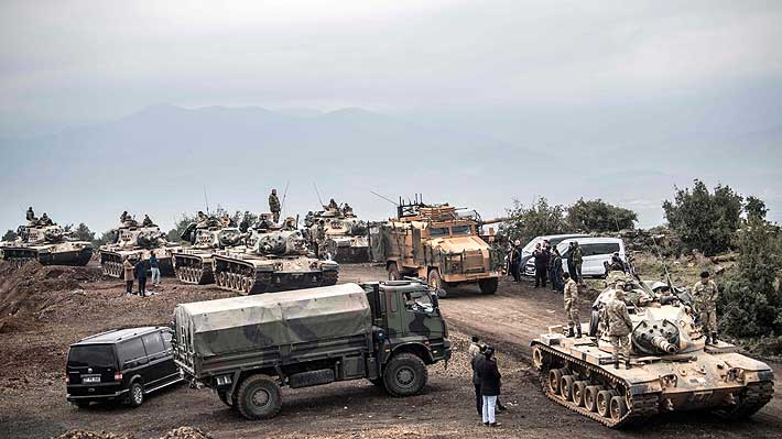 """Los kurdos se enfrentan a un """"peor escenario"""" tras la salida de EE.UU. de la frontera entre Siria y Turquía"""