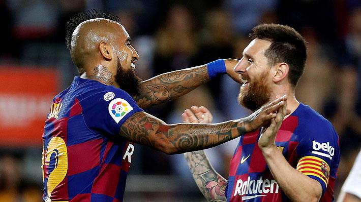 Siguen elogiando a Vidal en España y ahora aseguran que su presencia ha sido clave para levantar al Barcelona
