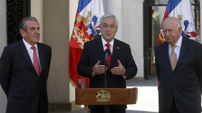 Sequía, modernización de instituciones, Escazú, Apec y COP: Los temas que abordó Piñera en reunión con Frei y Lagos