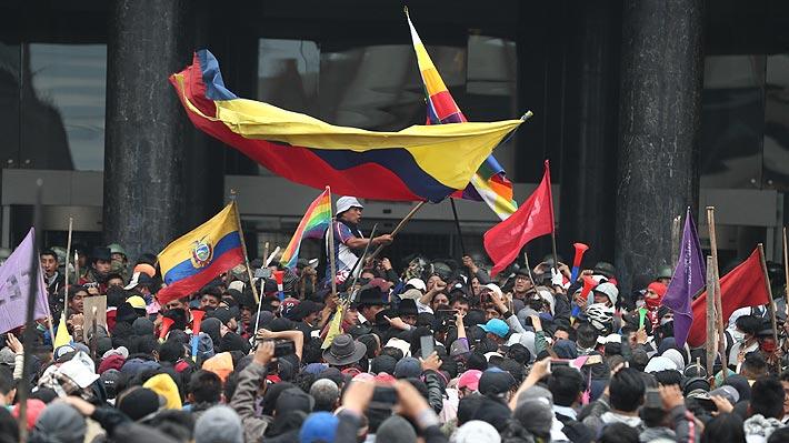 """Chile expresa """"irrestricto apoyo a los esfuerzos del Gobierno de Ecuador para mantener la institucionalidad"""""""