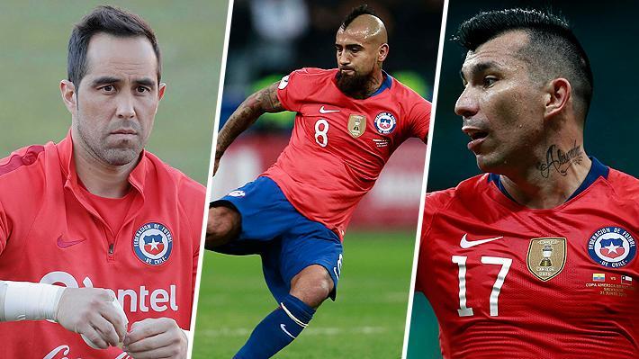Con Bravo, Vidal y Medel desde el inicio: Rueda probó la formación que utilizaría ante Colombia