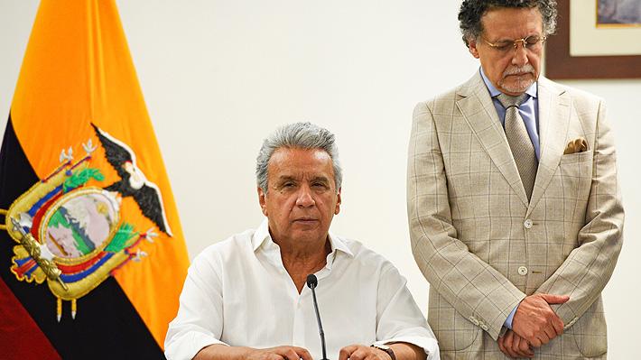 El Presidente de Ecuador dice que no renunciará y anuncia diálogo con grupos indígenas