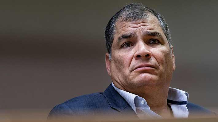 """Rafael Correa pide elecciones en Ecuador y afirma que se presentaría como candidato """"si fuera necesario"""""""