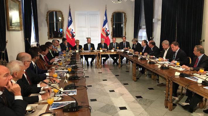 Piñera presenta mesa de trabajo que propondrá plan de largo plazo para enfrentar crisis hídrica