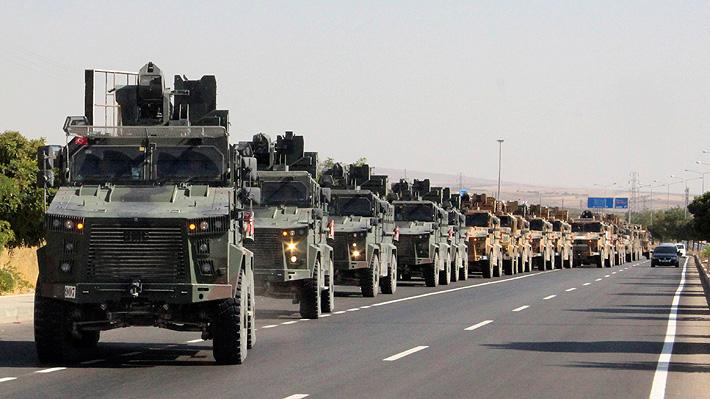 Turquía da inicio a operación militar contra las fuerzas kurdas en el norte de Siria