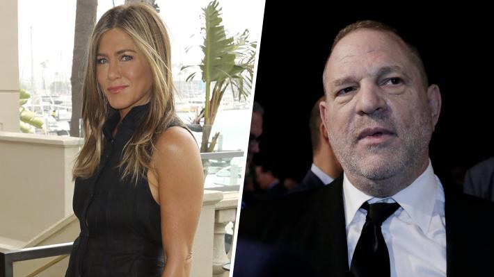 Jennifer Aniston habló sobre las experiencias intimidatorias que tuvo con Harvey Weinstein