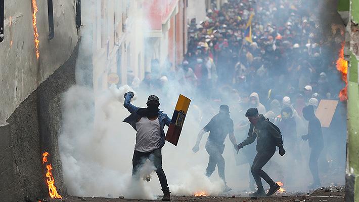 Jornada de dos caras en Ecuador: Paz en marcha indígena e incidentes en protesta de estudiantes y trabajadores
