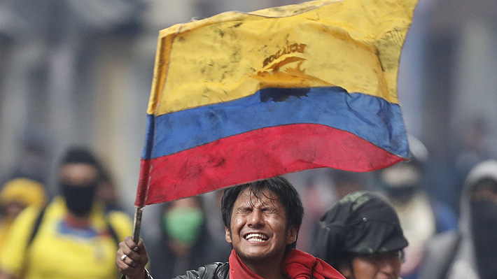 Confirman la muerte de una persona durante protestas del miércoles en Ecuador: Ya van cinco fallecidos en una semana