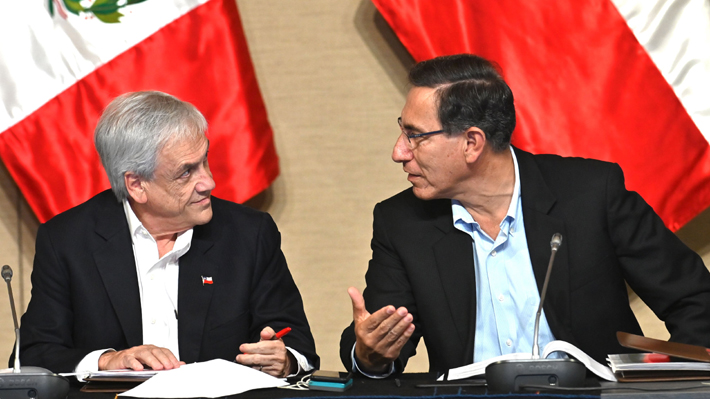 """Piñera y Vizcarra respaldan Gobierno de Ecuador y rechazan cualquier """"intento de desestabilizar proceso democrático"""""""