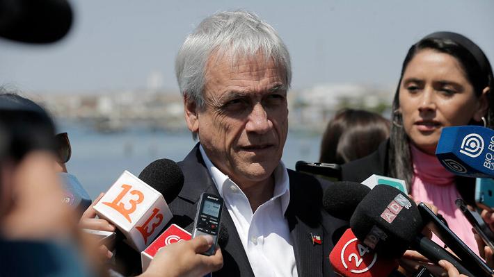 """Piñera espera que pugna entre TC y la Suprema se solucione y no descarta """"modificar incluso la Constitución"""""""