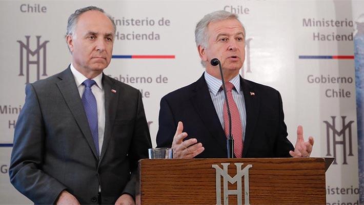 """Larraín descarta negociar la reintegración tras propuesta de senadores de Chile Vamos: """"Es un punto central"""""""