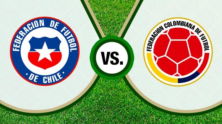 Mira cómo fue la amarga igualdad de la selección chilena ante Colombia