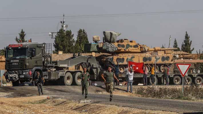 Kurdos informan que tropas estadounidenses regresan a su posición en el norte de Siria
