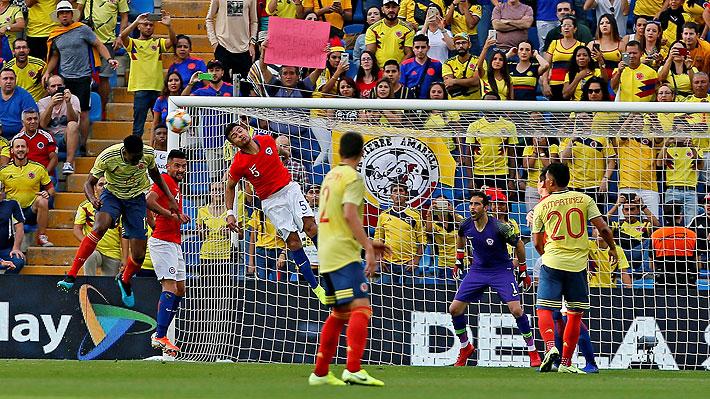 Chile sigue sufriendo con la falta de gol y sumó siete partidos sin victorias tras igualar en flojo duelo con Colombia