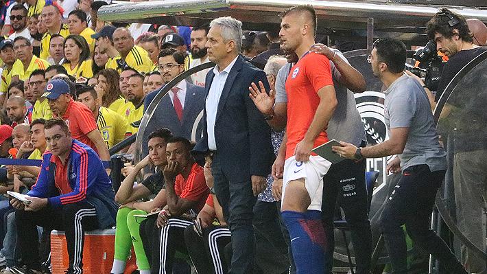 """Rueda quedó disconforme por el partido ante Colombia y destacó cuál es el objetivo de la """"Roja"""""""
