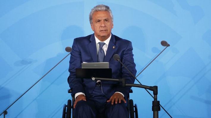 Presidente de Ecuador decreta toque de queda en Quito para facilitar accionar de la policía tras actos de violencia