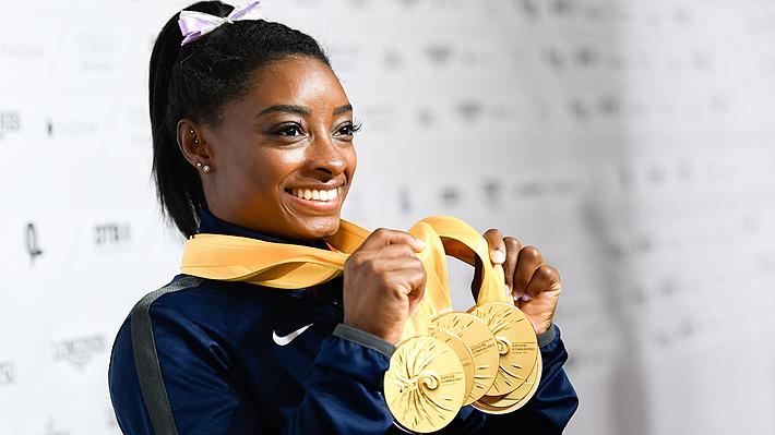 Simone Biles se convierte en la gimnasta más galardonada de la historia con 25 medallas