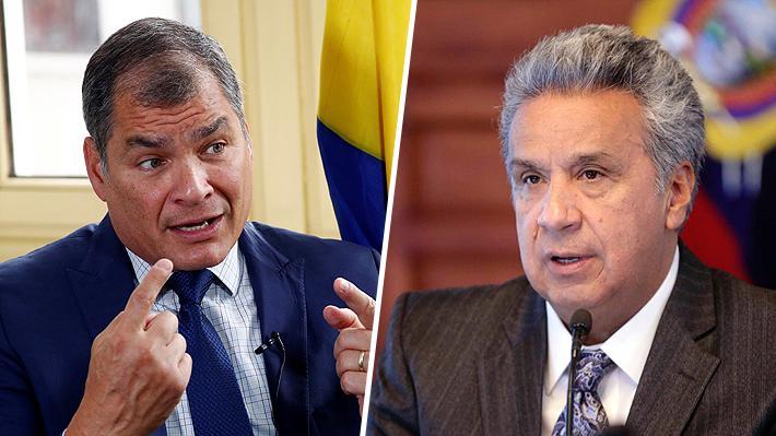 """Se atrasa el diálogo en Ecuador, mientras Correa insiste en que Lenín Moreno sea """"juzgado por sus crímenes"""""""