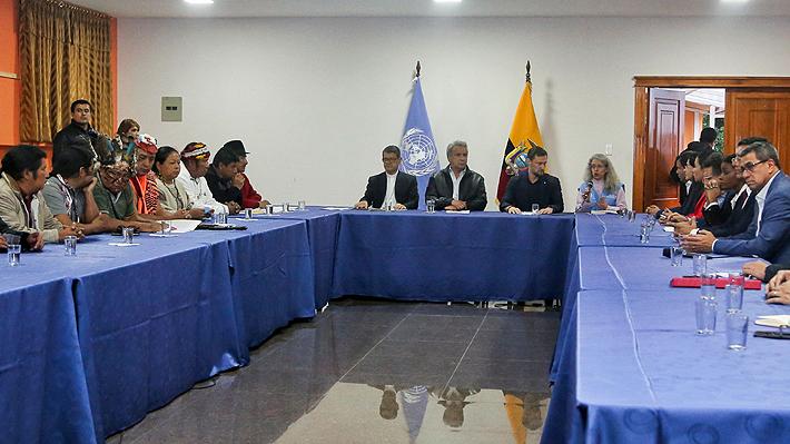 Anular decreto sobre gasolina y destituir a dos ministros: Las peticiones de los indígenas ecuatorianos a Lenín Moreno