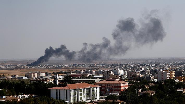 Al menos 14 muertos deja nueva ofensiva de Turquía en Siria que incluyó bombardeos en la frontera