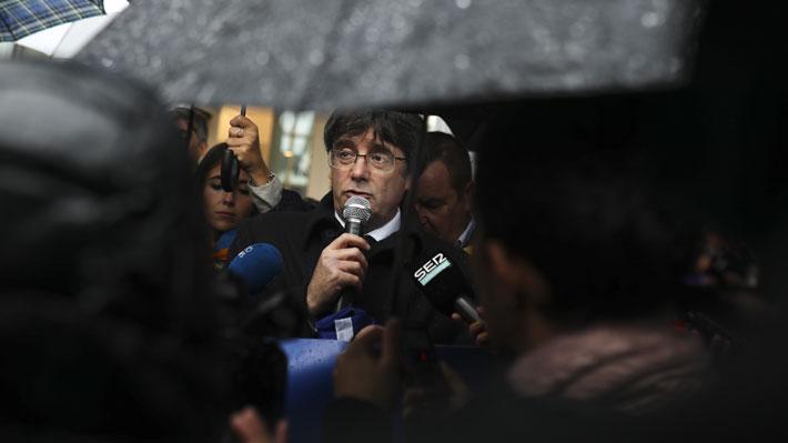 Justicia española dicta nueva orden de detención europea en contra de Carles Puigdemont