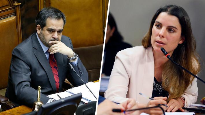 """Presidente del Senado emplaza a Orsini: """"La conminaría a retractarse o a entregar los antecedentes a la justicia"""""""