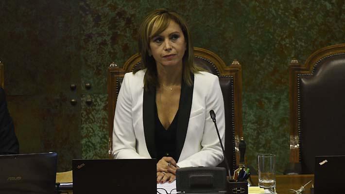 """Presidenta en ejercicio de la Cámara critica dichos de Orsini: """"Atentan a la dignidad de quienes ejercemos cargos públicos"""""""