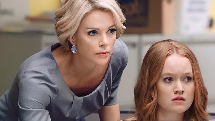 Publican el tráiler oficial del filme sobre el escándalo sexual de Fox News con una irreconocible Charlize Theron