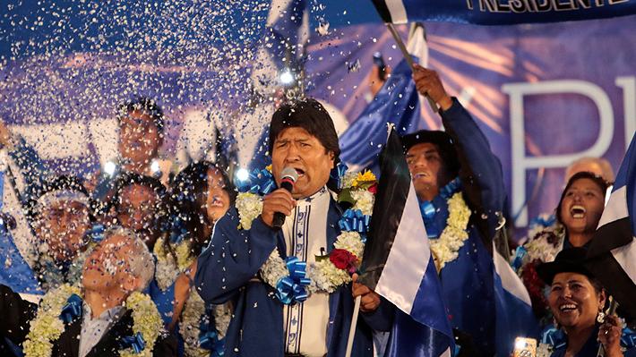 """La confianza de Evo Morales en el cierre de su campaña presidencial: """"Vamos a dar paliza a los vende patrias"""""""